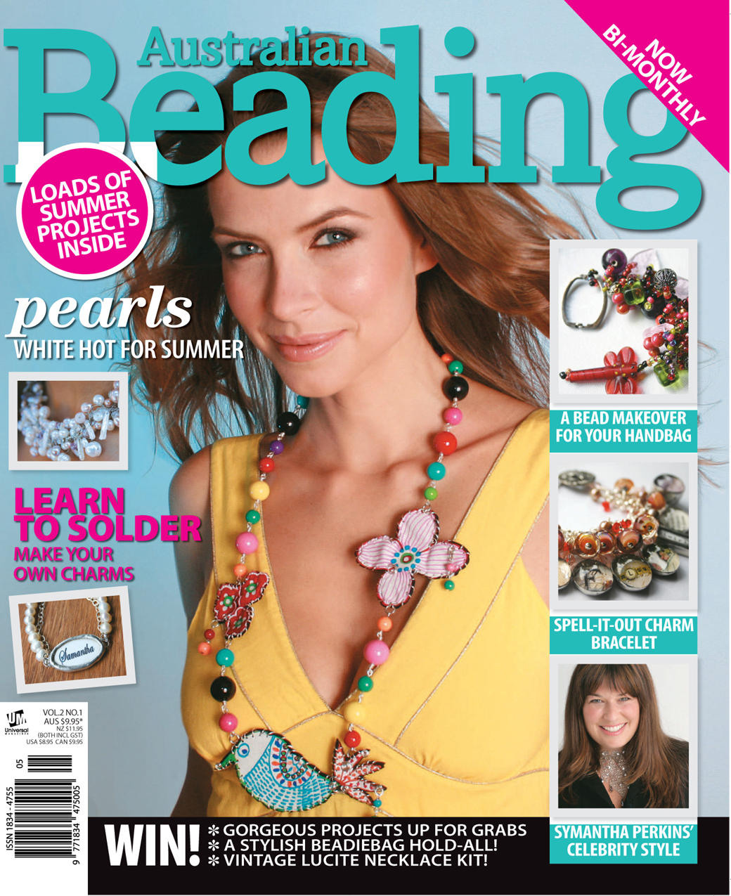 Lisa Kan Designs: Publications Australian Beading Magazine Vol 2 No 1